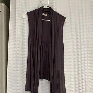 Grey perfect for layering vest/shirt